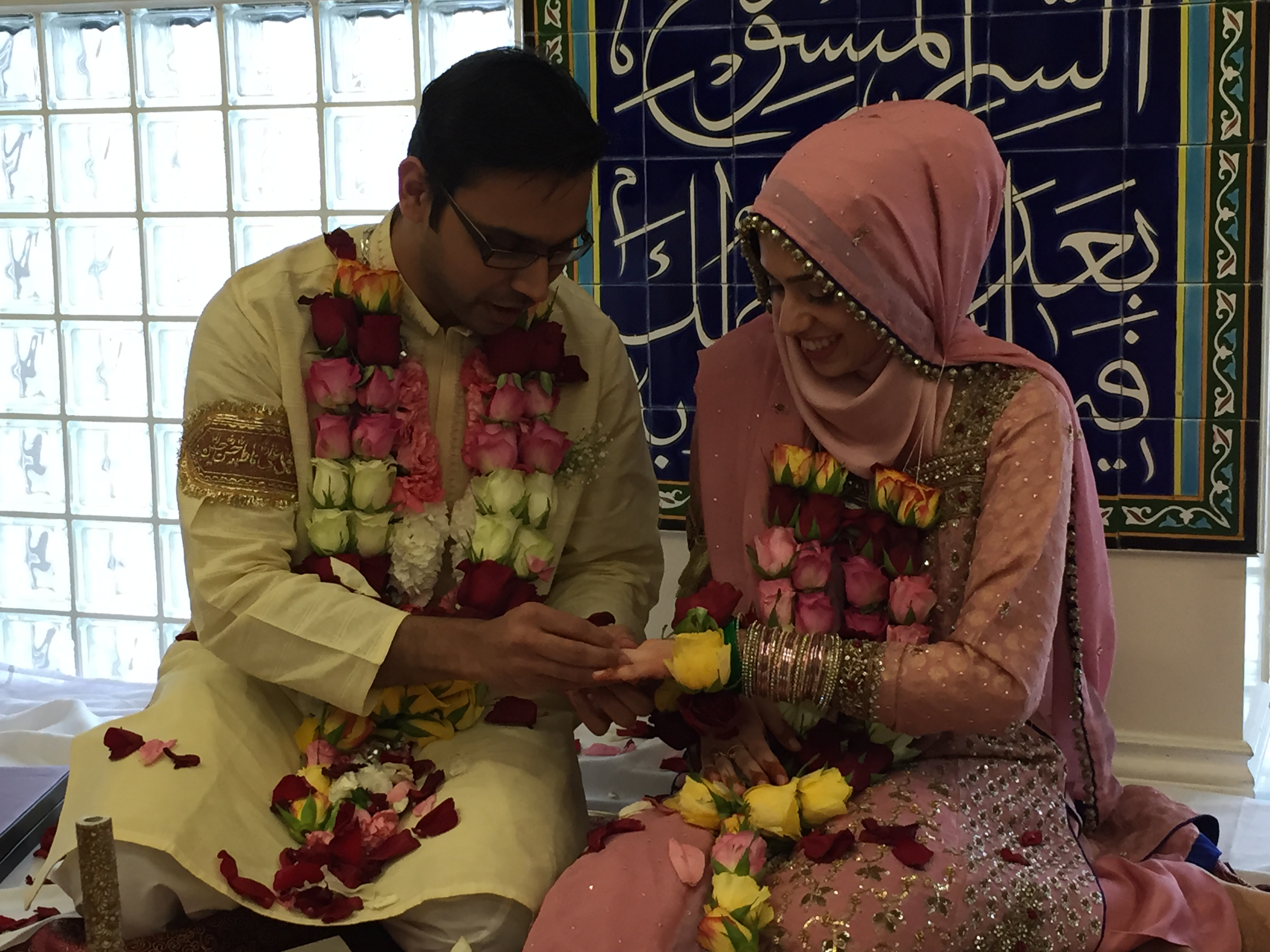 Hasan and Sania's Nikaah picture